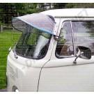 Casquette de pare brise aluminium T2 8/1967-7/1979