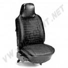 113052VBK Housses de siège en vinyl gauffré avant et arrière 74-->>76 (le jeu)