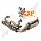Echappement CSP Python Inox 38mm Combi -->71