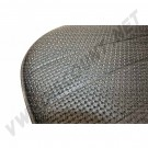 Housses de siège av + ar vinyl noir cabriolet 68-->69 avec appuie tête 239€