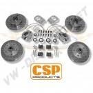 Kit freins à disques avant CSP 5x130 pour modèles 1302/1303