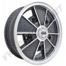 jante BRM réplica noire mat et grise mat 5x15 5 trous 5x205