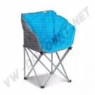 chaise Kampa Tub bleu avec  sac de transport | dream-machine.fr