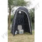 Cabine pour toilettes 225x120x120 cm DM42141 sur dream-machine.fr
