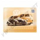 Plaque métal Der Volkswagen