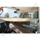 Lit hamac de cabine avant ajustable avec fixations T25