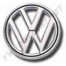 Sigle rond VW pour capot av 8/63---->> Allemagne