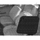 Housses de siège en vinyl  noir avant 77---->>79