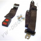Ceinture de sécurité arrière ventrale 2 points homologuée 111857704DBLK| Dream-Machine.fr