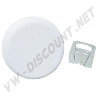 Support et housse de roue de secours vinyl blanc Combi 00-4220-0 | Dream-Machine.fr