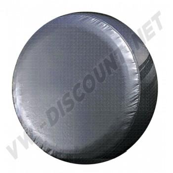 Housse de roue de secours vinyl noir Combi 00-4222-0 | Dream-Machine.fr