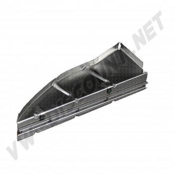 support de joint tour moteur Gauche de compartiment moteur pour Cox 51->60 111 813 159 C L 111813159C VW Coccinelle | Dream-machine