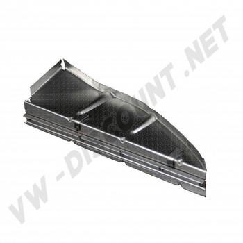 support de joint tour moteur Droit de compartiment moteur pour Cox 51->60 111 813 160 C L 111813160C VW Coccinelle | Dream-machine
