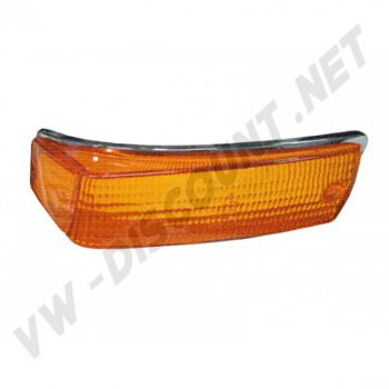 141953162B Cabochon de clignotant orange avant droit Ghia 70-74