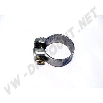 Collier diamètre 54,5 mm permettant de raccorder deux tubes d'échappement ensembles