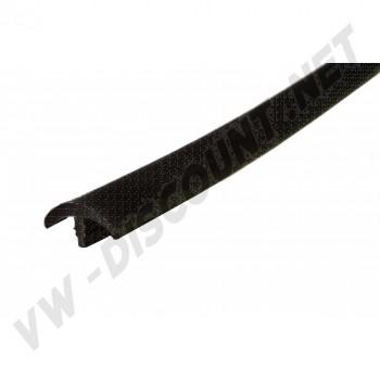 Couvre chant plastique Noir de table et de meuble, profil en T, Westfalia 8/1967-7/1973 Le mètre