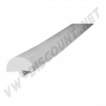 Couvre chant plastique gris de table, profil en T épais Type Westfalia Helsinki,... Le métre
