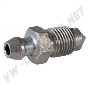 Vis de purge 10 mm sur cylindre de roue avant pour Combi 55 ->70 443616789
