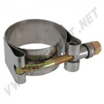 Collier inox barre stabilisatrice train avant (petit modèle)