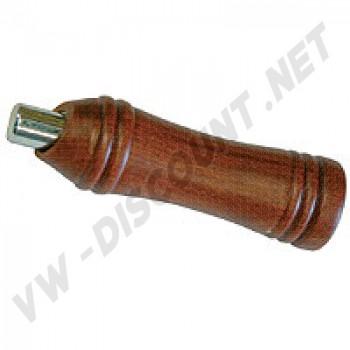 AC711I100A Couvre poignée de frein à main bois et bouton chromé