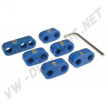 Séparateurs de fils de bougies bleus AC998205