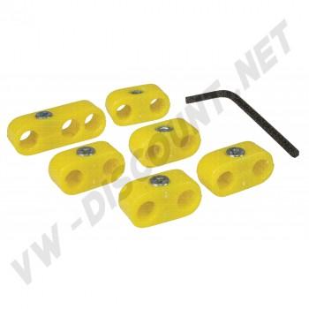 Séparateurs de fils de bougies jaunes AC998206