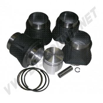 Kit cylindrée 1400cc sur 1200cc embase 87 -64mm x 83mm  AA PRODUCTS