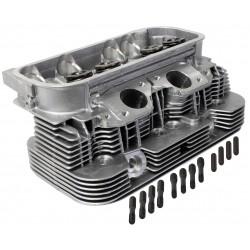 Culasse neuve complète moteur Type 4 2L 39.3x33 sortie échappement rectangulaire