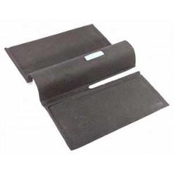 Tapis en caoutchouc arrière gris 1960-1972