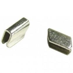 Clips de finition pour baguette chromée d'éclairage de plaque arrière Karmann Ghia