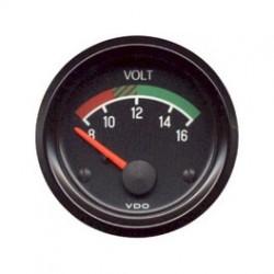 voltmetre 12 volts diam 52mm VDO