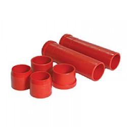 Kit tubes en uréthane pour bras de train avant  train à rotules